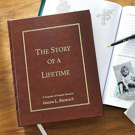 Husband's Story of a Lifetime - Personalized Gift