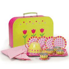 tin tea set for your tin anniversary