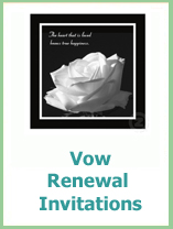 vow renewal invitations