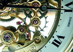 15th wedding anniversary gift clock