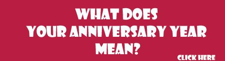 what does your anniversary mean