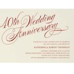 anniversary invitation wording